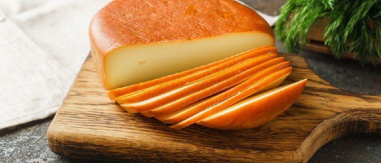 Домашний копчёный сыр