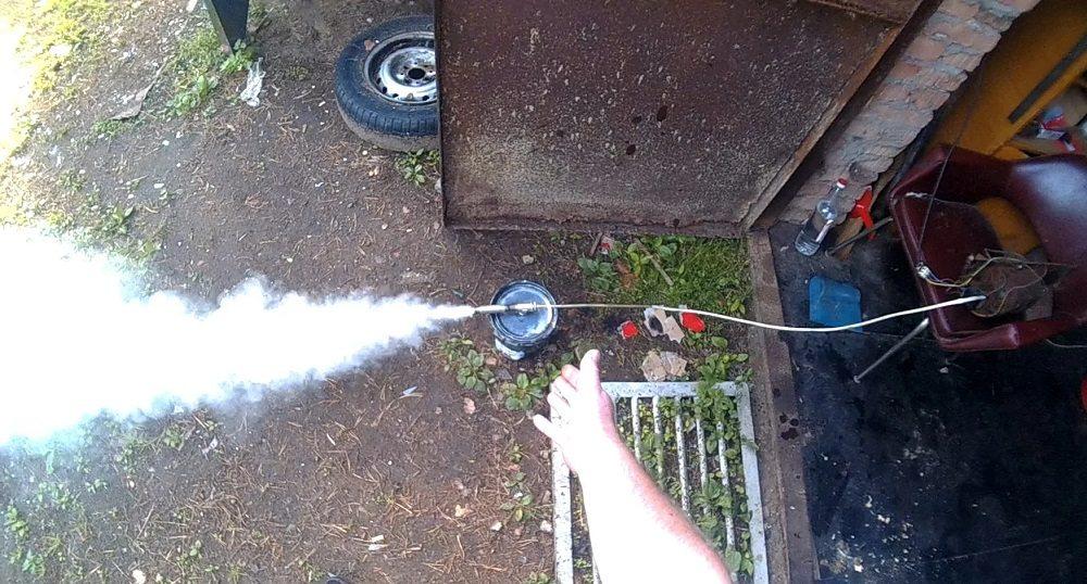 Дымогенератор из ведра