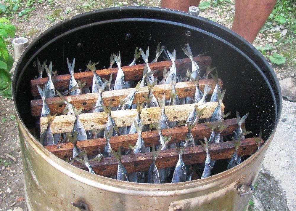 Использование коптильни из стиральной машины
