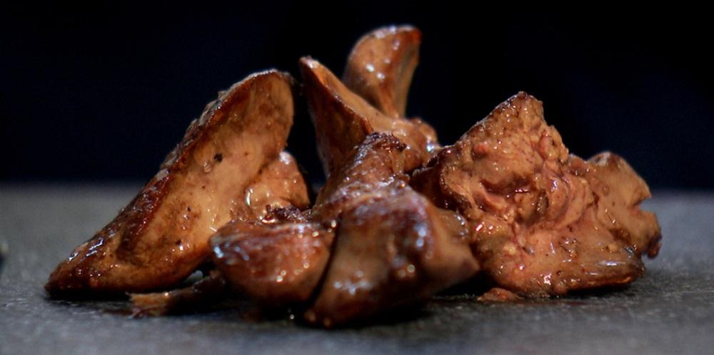 Копчёная куриная печень