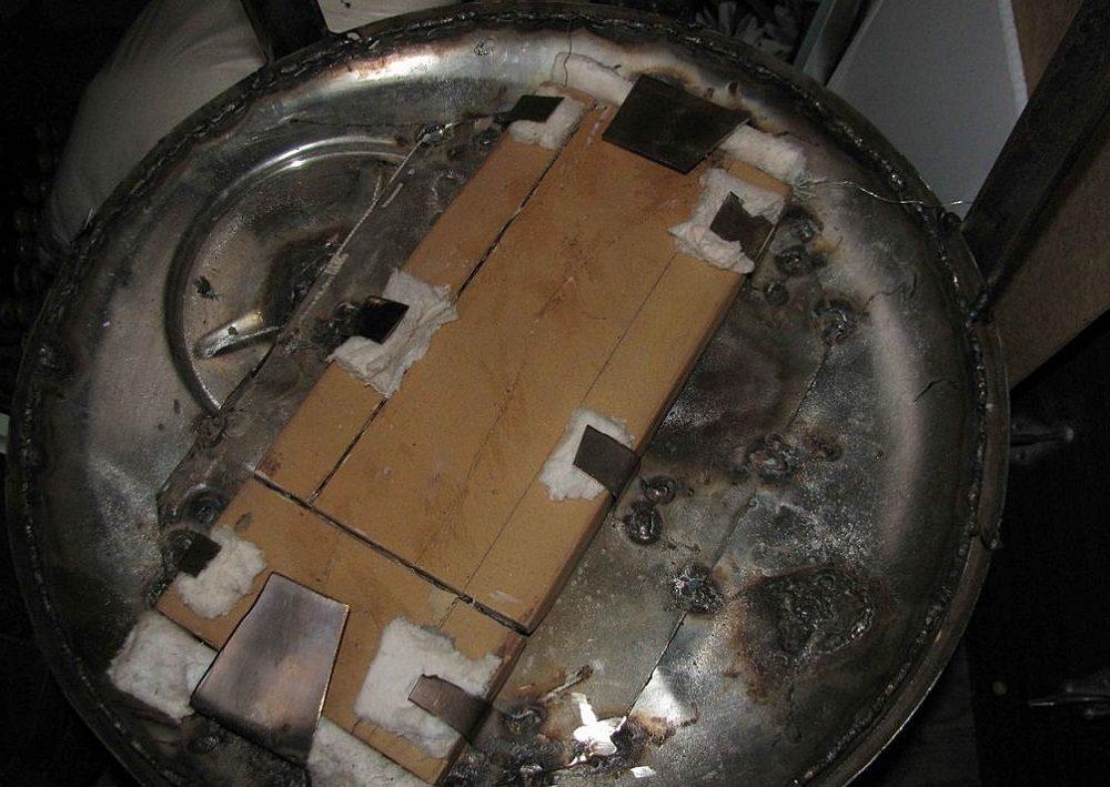 Крепление нагревательного элемента