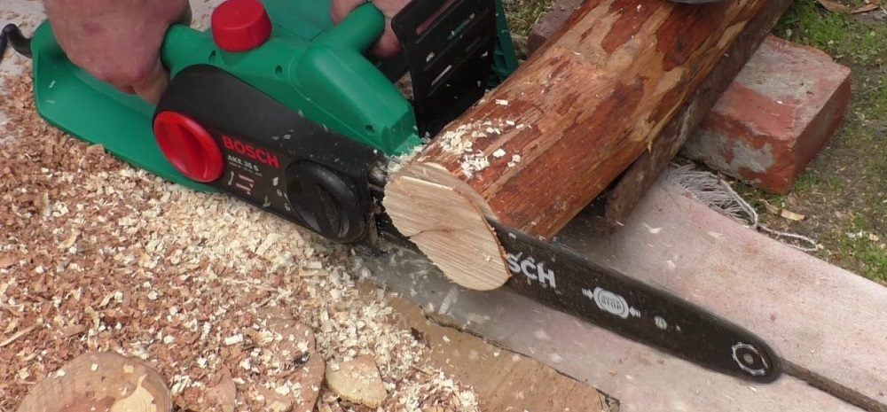 Нарезание кругов из древесины