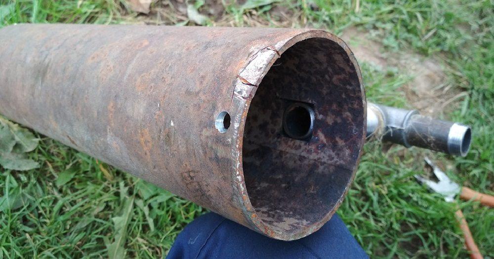 Труба для дымогенератора