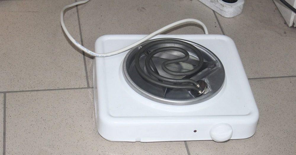 Бытовая электрическая плита