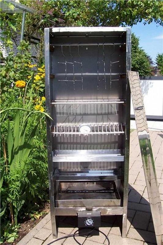 Электростатическая коптильня из холодильника