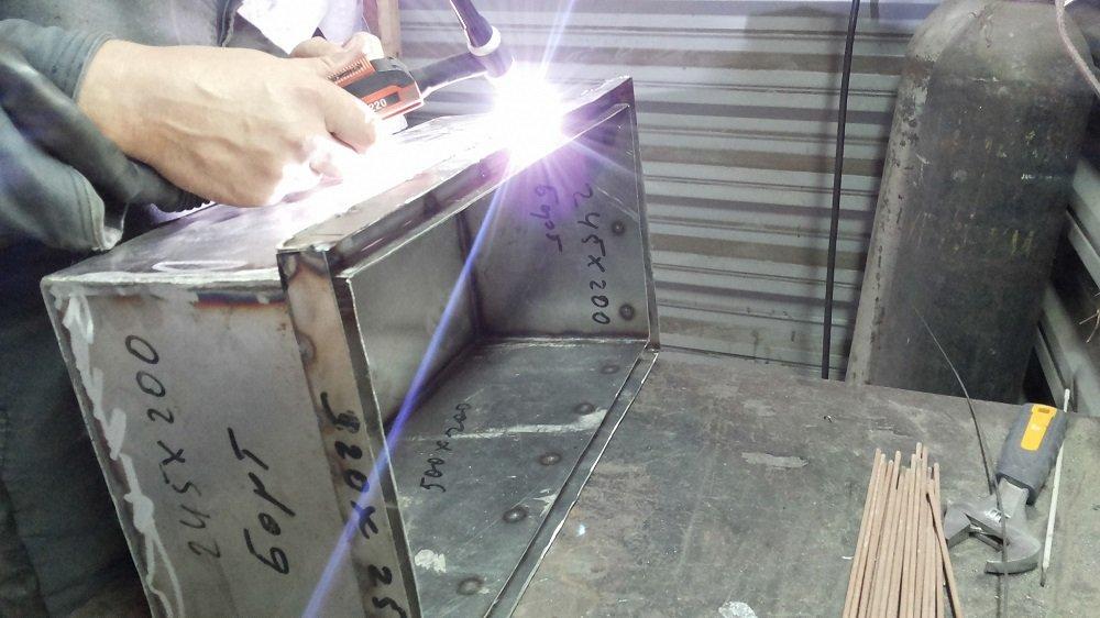 Гидрозатвор для коптильни из нержавеющей стали