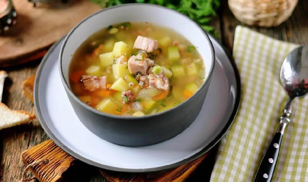 Гороховый суп с белым вином