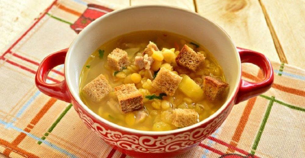 Гороховый суп с ножками