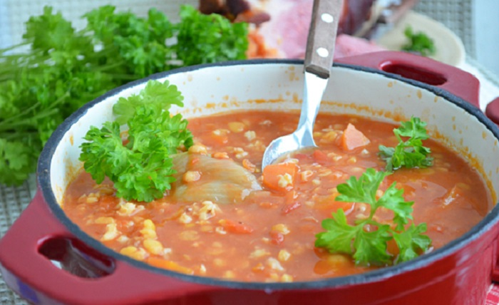 Гороховый суп в духовке