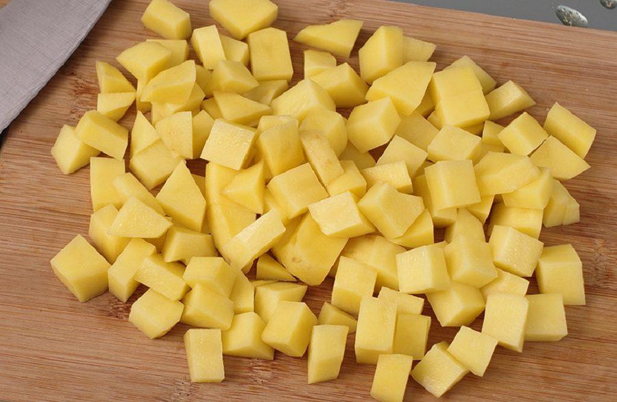 Картофель для классической солянки