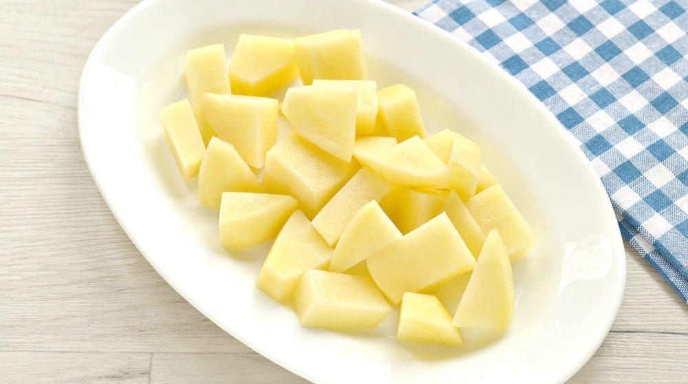Картофель для солянки с курицей
