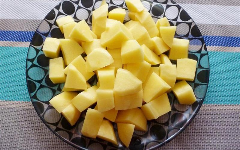 Картофель для супа-пюре