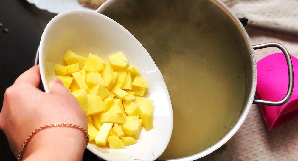 Картофель для супа с вермишелью