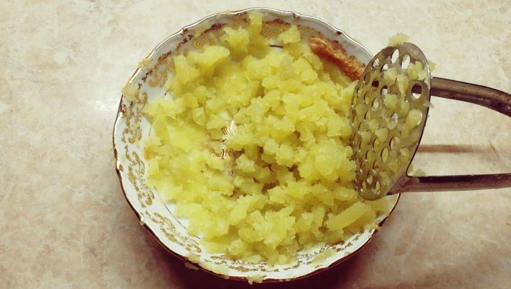 Картофельное пюре для супа