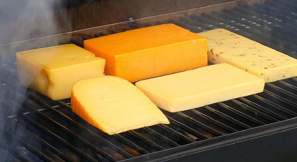 Копчение сыра на щепе