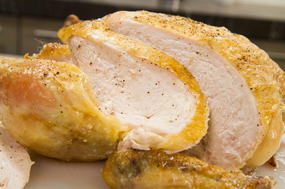 Копчёная курица для супа из гороха