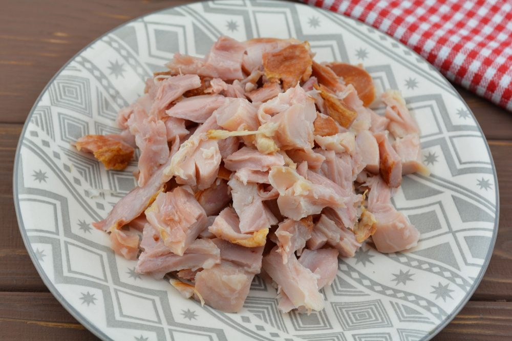 Копчёное куриное мясо
