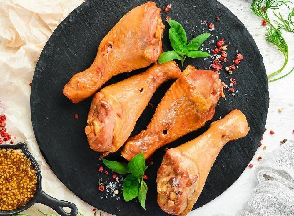 Копчёные куриные голени