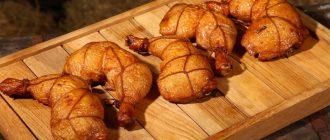 Копчёные куриные окорочка
