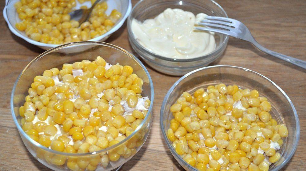 Кукуруза в салатнике