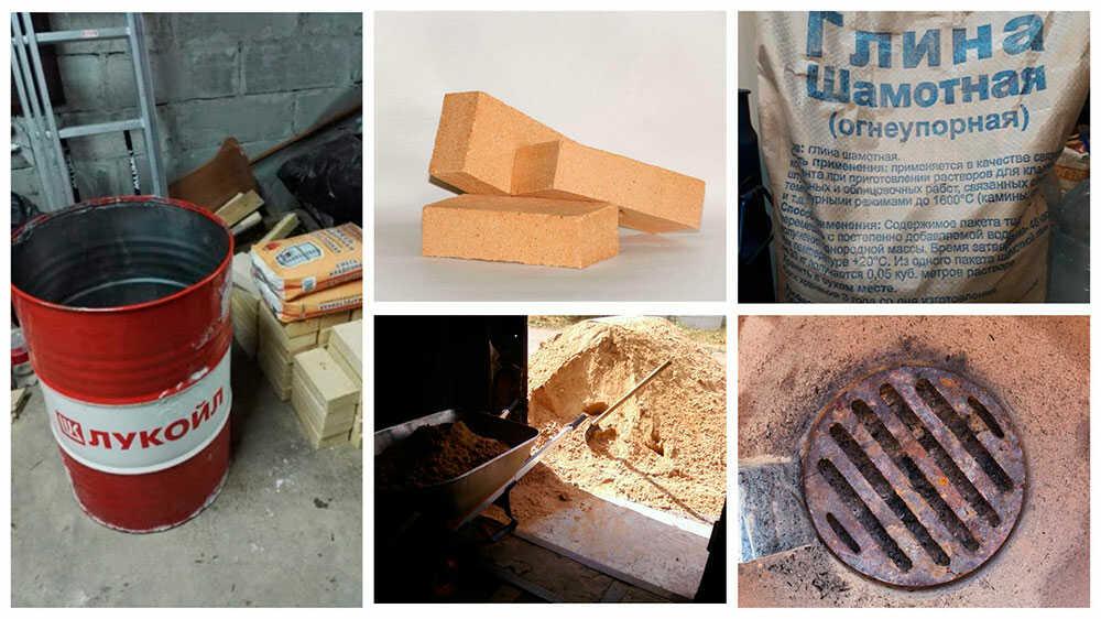 Основные материалы для строительства