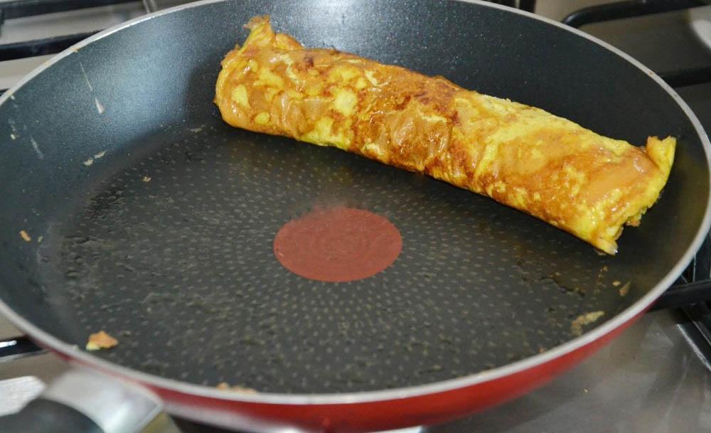 Первый японский омлет