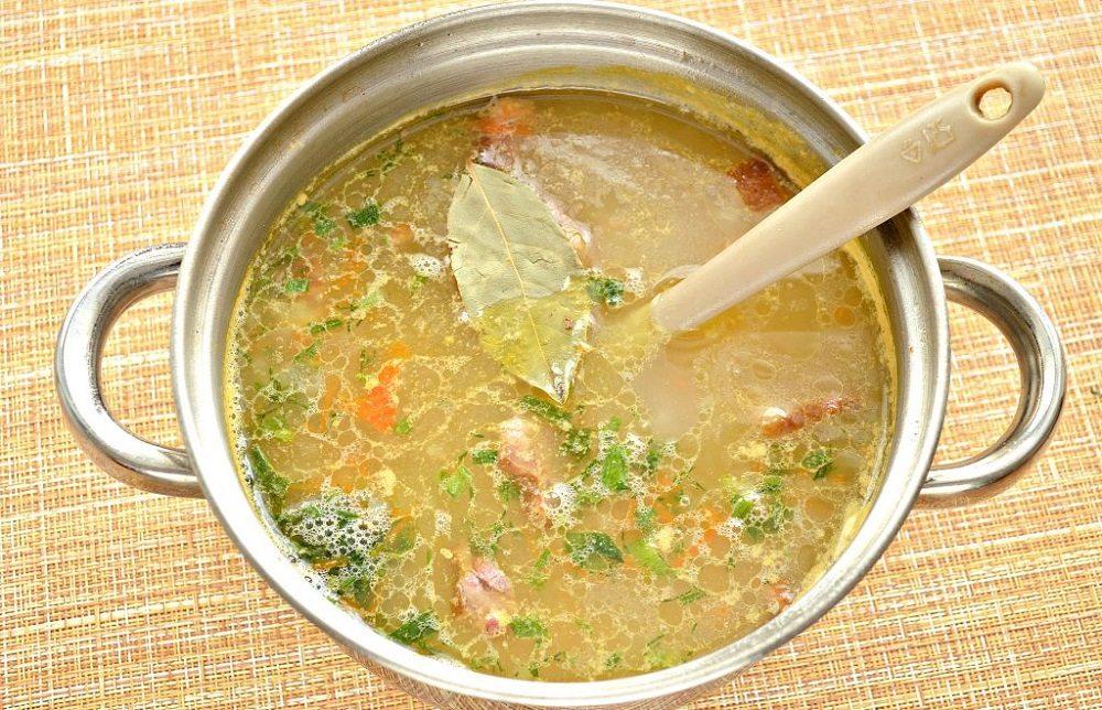Рисовый суп с крыльями