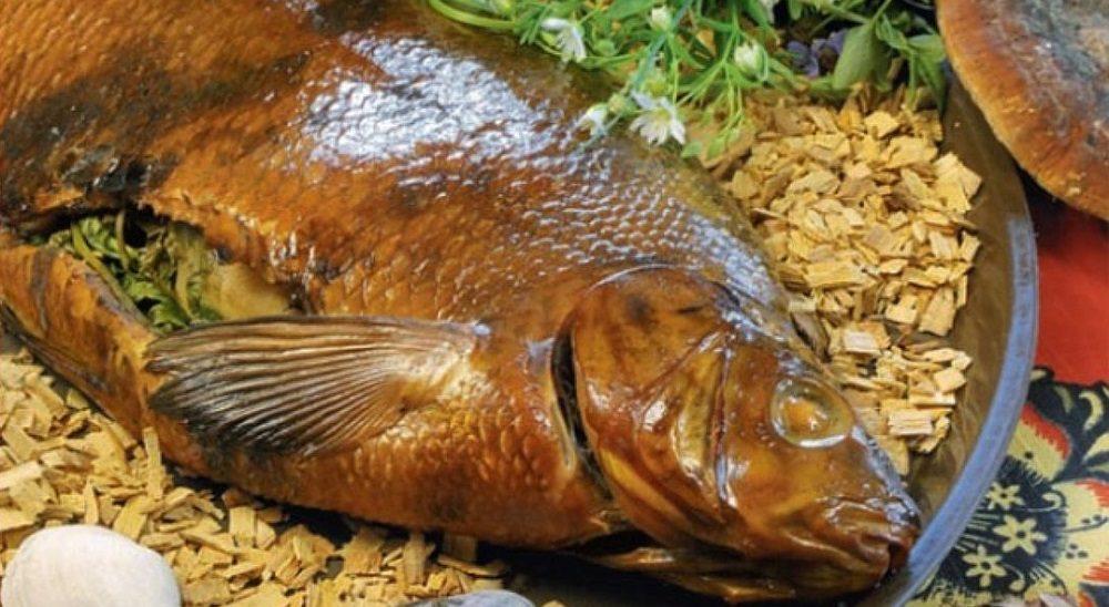 Щепа для копчения рыбы