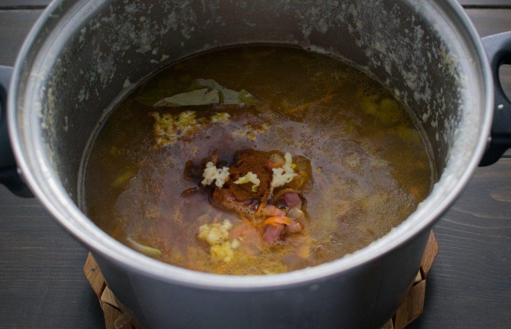 Специи для супа с грудинкой