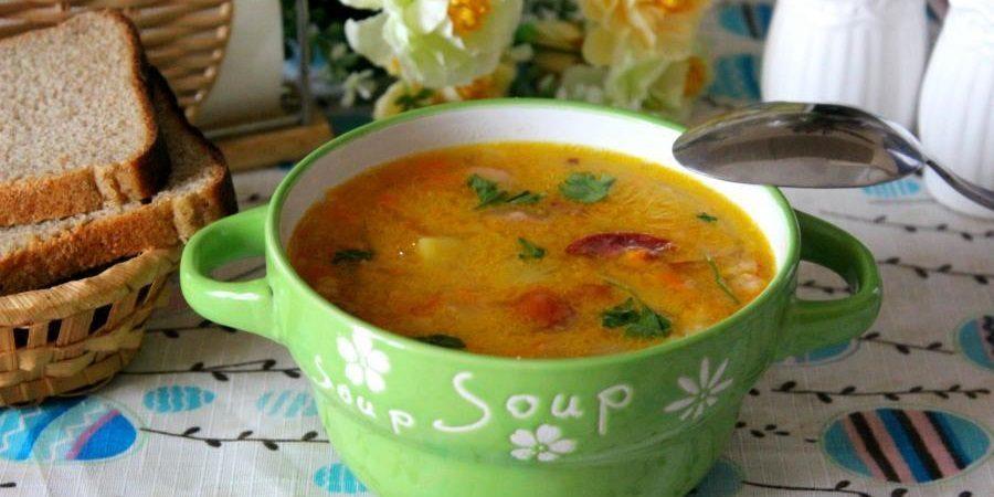 Суп на мясном бульоне
