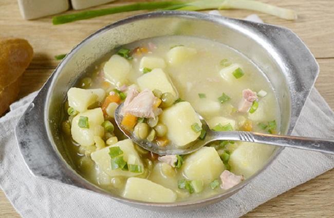 Суп с окорочком из мультиварки