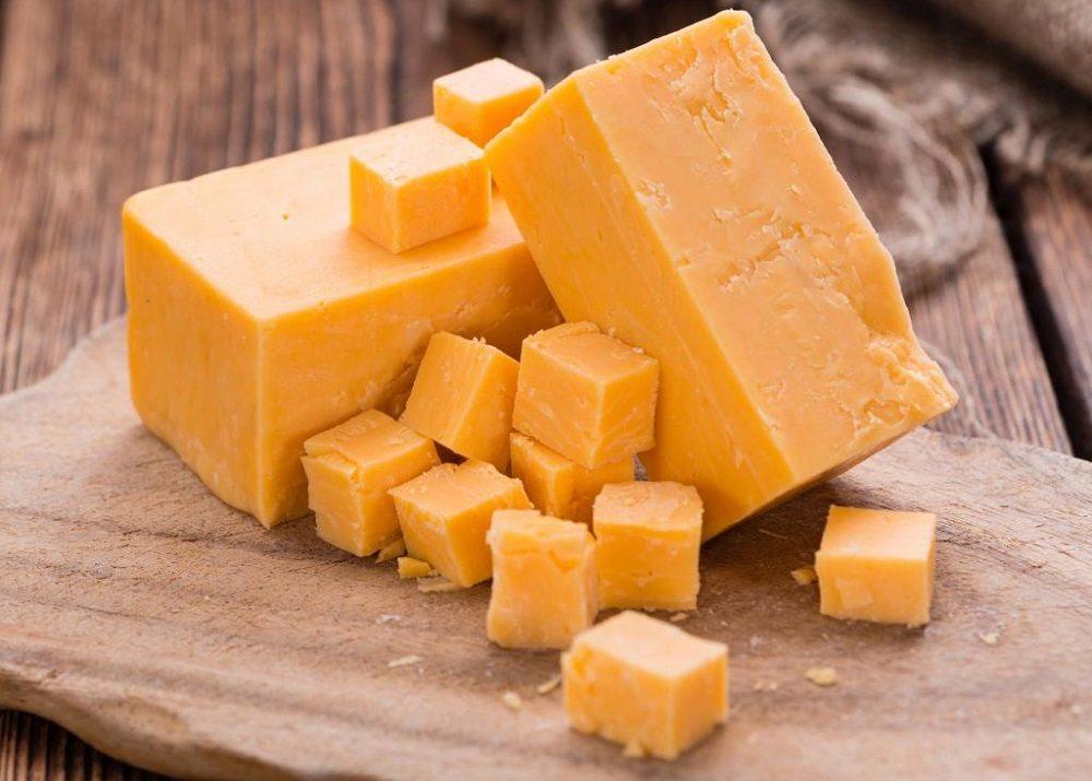 Сыр чеддер для супа
