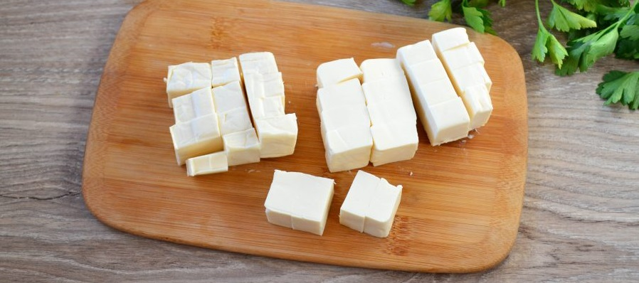 Сыр для супа с окорочком