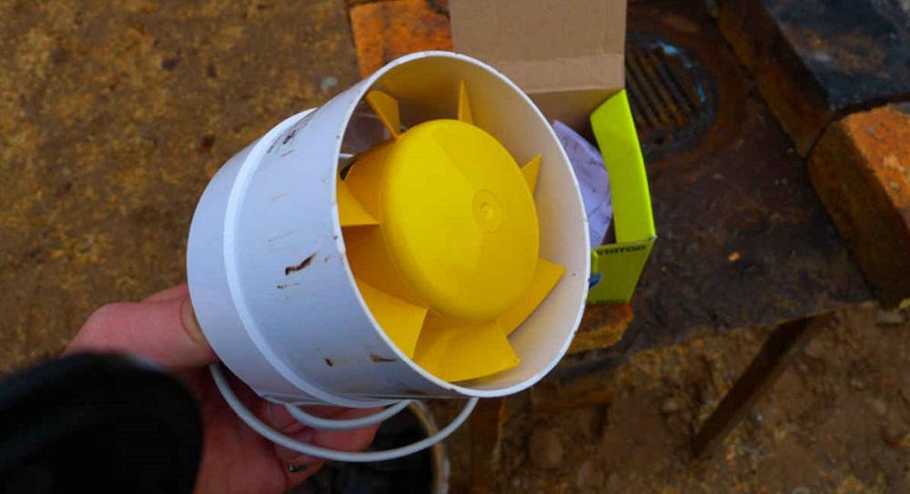 Вентилятор для дымогенератора