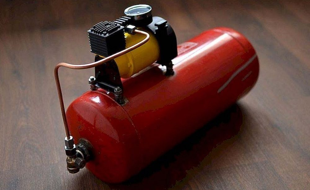 Вентилятор из автомобильного компрессора