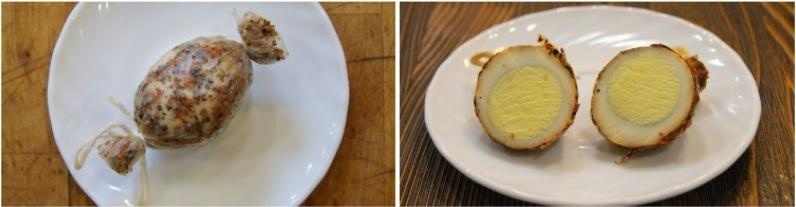 Яйцо в коллагеновой плёнке