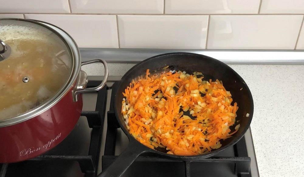 Зажарка для горохового супа
