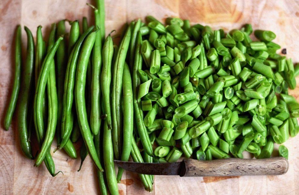 Зелёная фасоль для салата