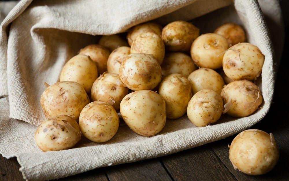 Молодой картофель для тандыра