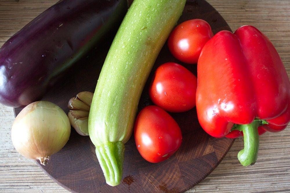 Овощи для курицы