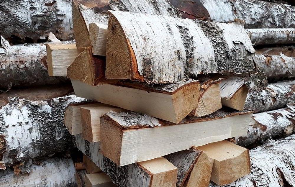 Берёзовые дрова для рёбрышек