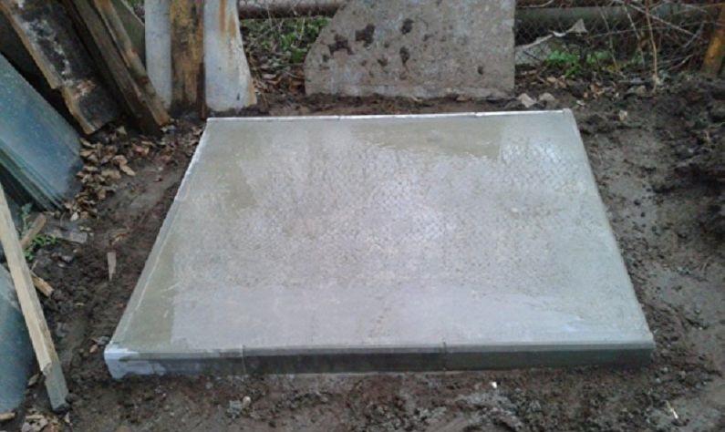 Готовый фундамент для тандыра
