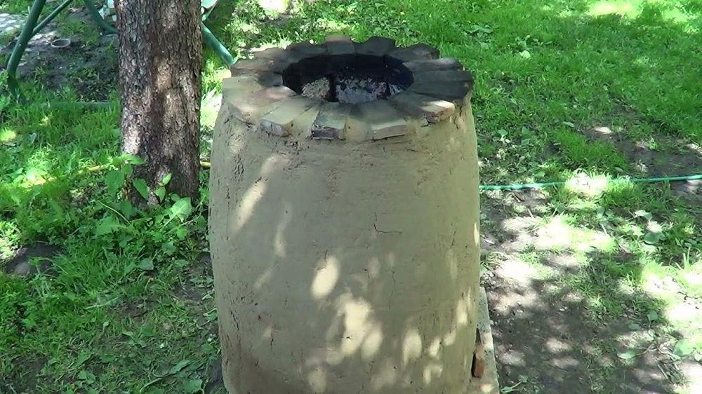 Кладка цилиндр из кирпича