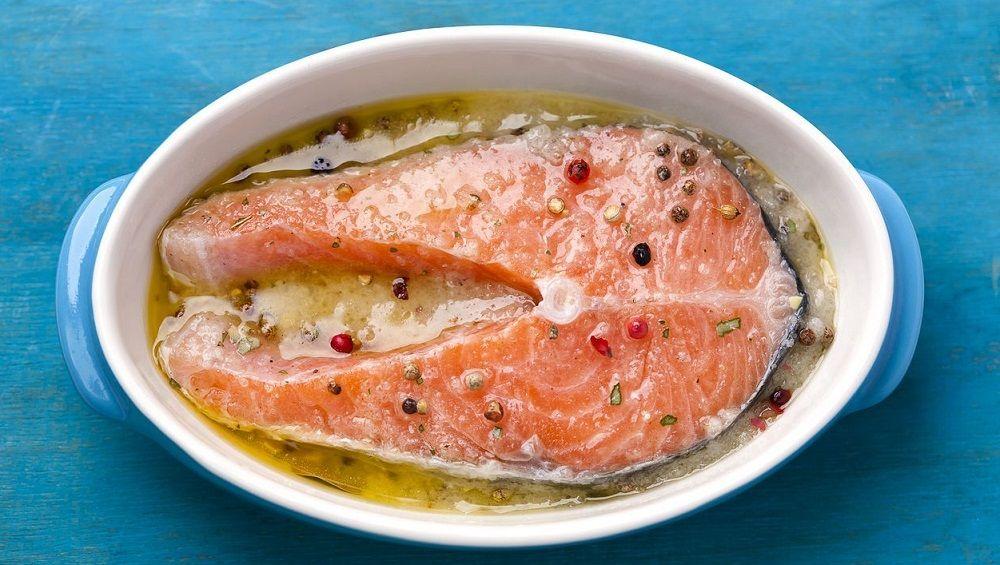 Маринад для рыбного стейка