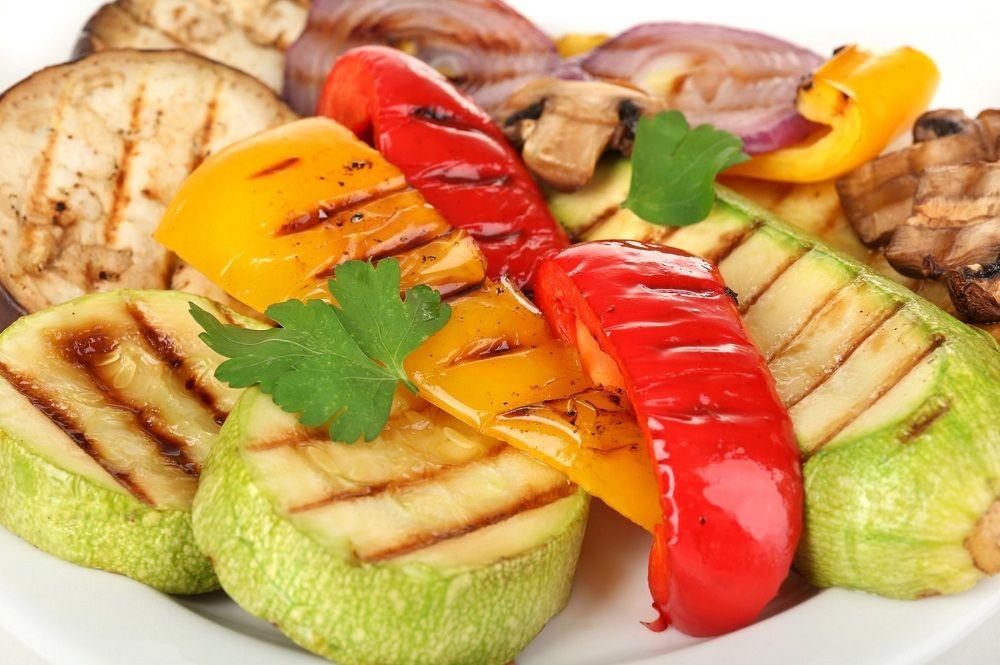 Овощи из тандыра