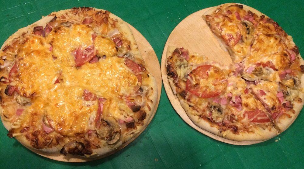 Пицца из тандыра