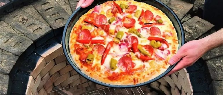 Пицца в тандыре