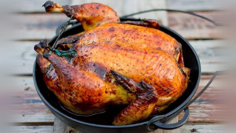 Приготовление курицы в тандыре