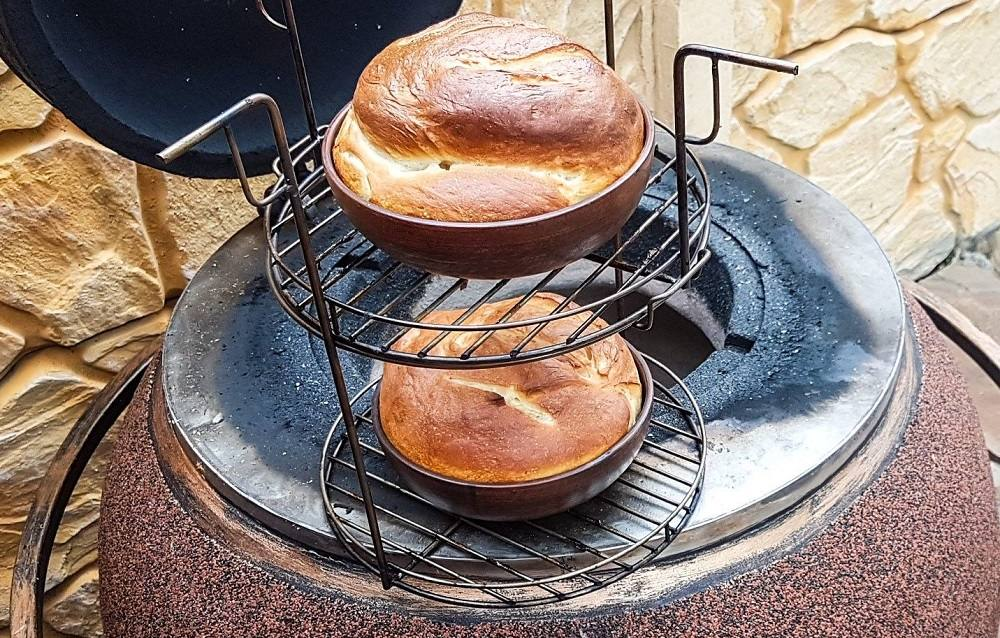 Сдобный хлеб в тандыре