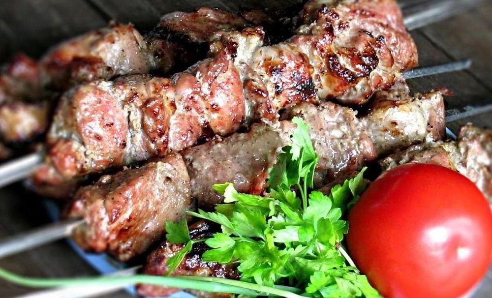 Армянский шашлык из говядины